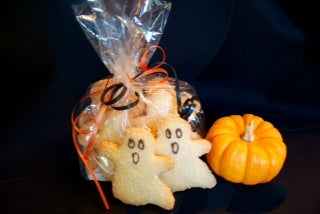 Parents' Club ghost cookies