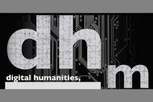 Digital humanities minor logo