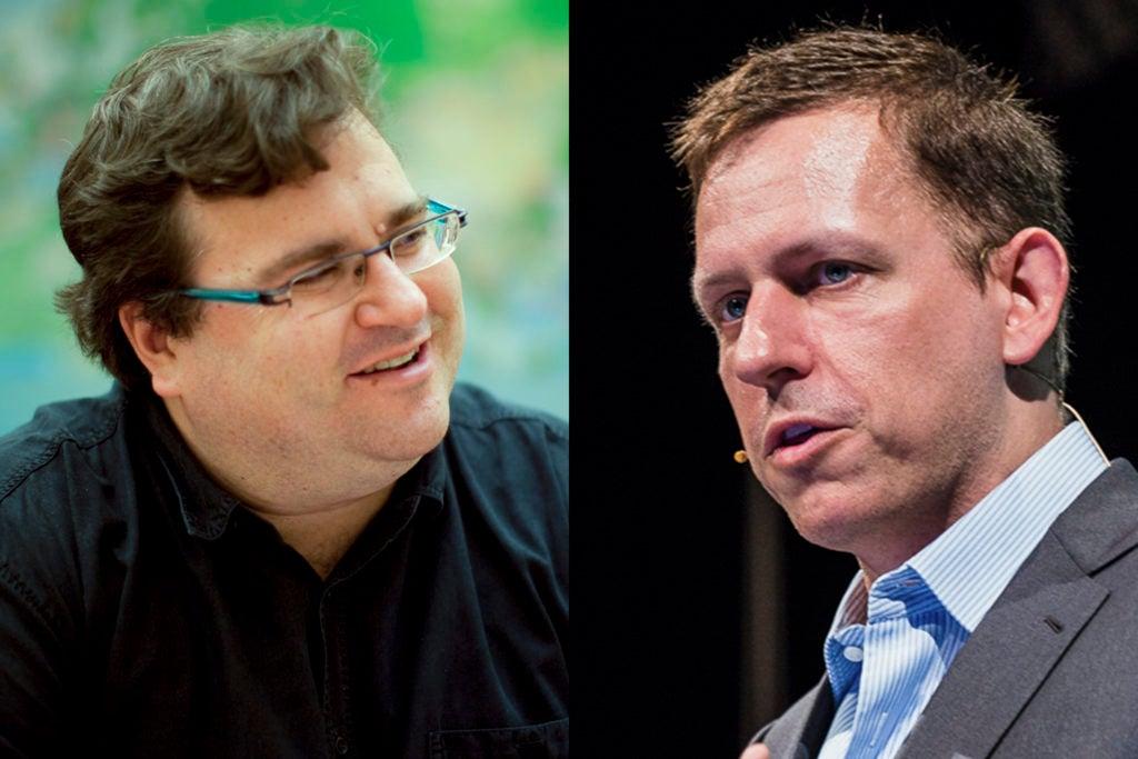 Reid Hoffman and Peter Thiel