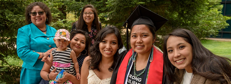 Graduation family