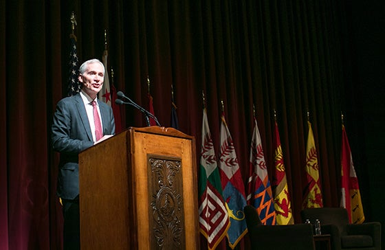 President Marc Tessier-Lavigne